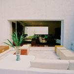 """Terraza con muebles """"built-in"""""""