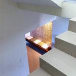 Detalle Escalera y Vestíbulo