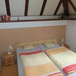 Doppelschlafzimmer Halbetage mit eigenem WC