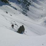 Finaler Anstieg zum Gipfel....