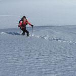 der Schnee genial und die Aussicht ebenso