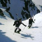 Nun noch der Aufstieg zum angepeilten Gipfel….