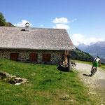 Nach gut 1300 Höhenmetern war die Lichtenberger Alm erreicht