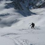 konnte trotz der nicht leicht zu befahrenden Schneeverhältnisse ebenfalls genossen werden.