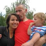 Ulla und Felix verabschieden sich für eine Woche vom Tata