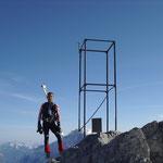 Wolfi der alte Bergradler - Streckenrekordhalter auf das Stilfser Joch – hat nun auch seine neue Leidenschaft mit dem Skibergsteigen gefunden