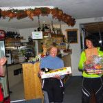 Siegerpodest Frauen - Skitour