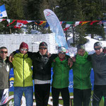 und anschließendes Gruppenbild der ASV-Martell Athleten, von links Toni, Pfatner Franz, Welli, Alex, Franz, Ivan) Lukas fehlte beim Foto machen