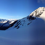 Toller Ausblick mit einigen bekannten Gipfeln