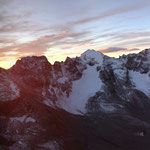 Was für ein Panorama…ganz rechts beginnend mit dem Cevedale – Skitour?