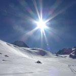 Richtung Gletscher nahm dieser prächtig anzusehende Ferner – gefühlt – kein Ende