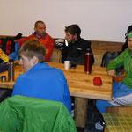 Zu unseren Freunden und treuen Cup Teilnehmern aus dem unteren Vinschgau, durften wir uns dazugesellen