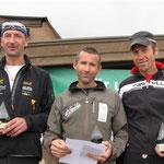 Siegerbild von Tonis Kategorie, von links, Christoph, Toni, Karl