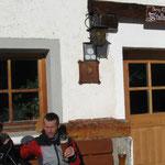 Start - Ziel beim Gasthof Stallwies