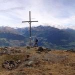 Panorame vom feinsten, links das Oberland mit Haider- und Reschersee, rechts der mittlere Vinschgau