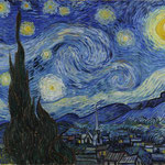 Vincent van Gogh [Public domain], via Wikimedia Commons | http://commons.wikimedia.org/wiki/File%3AVan_Gogh_-_Starry_Night_-_Google_Art_Project.jpg