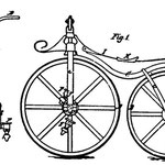 von US Patent Office (US patent #59.915) [Public domain], via Wikimedia Commons | http://commons.wikimedia.org/wiki/File%3AVelocipedeLallement.jpg
