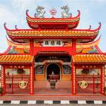 © CEphoto, Uwe Aranas/, via Wikimedia Commons | http://commons.wikimedia.org/wiki/File%3AKudat_Sabah_Fuk-Tek-Kung-Temple-01.jpg