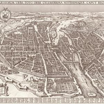 Claes Janszoon Visscher [Public domain], via Wikimedia Commons | http://commons.wikimedia.org/wiki/File%3AMap_of_Paris_by_Claes_Jansz._Visscher_-_Harold_B._Lee_Library.jpg