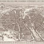 Claes Janszoon Visscher [Public domain], via Wikimedia Commons | http://commons.wikimedia.org/wiki/File%3AMap_of_Paris_by_Claes_Jansz._Visscher_-_Harold_B._Lee_Library.jpg