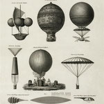 von Warren, Ambrose William, 1781?-1856, engraver. [Public domain], via Wikimedia Commons | http://commons.wikimedia.org/wiki/File%3AAeronautics2.jpg