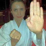 Sempai Lilia Weiss 3. Kyu
