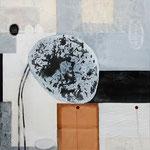 Achtsamer Moment, 2012, Mischtechnik auf Leinwand, 120x100 cm