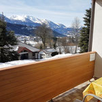 Südbalkon mit Traumaussicht - Haus Löger Apartments - Windischgarsten