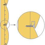 Схема монтажа блок хауса