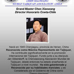 GM Chen Xiaowang Director Honorario Cxwta-Chile