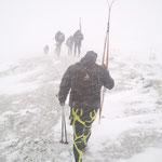 A 3000 mètres, le mauvais temps ça calme !