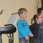 Chanter avec enthousiasme