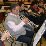 D'un côté les trompettes