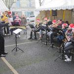 Les lutins du jeune orchestre.