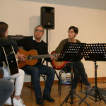 L'ensemble guitare et chants