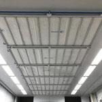 Einbau von neuen Deckenfilter