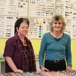 Marlise Ernst und Trudi Reichmuth im Innen- und Verkaufsdienst