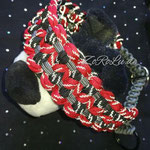 Halsband mit Zugstopp - 3farbig