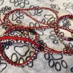 Halsband, Leine und Geschirr als Set