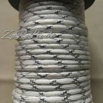 74 Metallic Glitter White & Silver Tracer