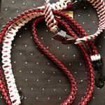 verstellbare Leine plus breites Halsband mit Sicherheitsschnalle