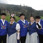 Vorstand Jodlerklub Alpenklänge