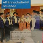 Hauszeitung Alterswohnheim Brunnen, Dezember 2018