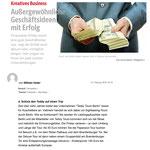Thema Außergewöhnliche Geschäftsideen mit Erfolg - Teddy Tour Berlin. B.Z., 2015