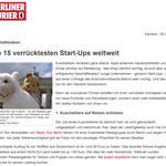 Die 15 verrücktesten Start-Ups weltweit - Karsten Morschett - Berliner Kurier
