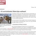 Karsten Morschett - Thema Die 15 verrücktesten Start-Ups weltweit - Teddy Tour Berlin. Berliner Kurier, Express Köln