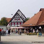 ...in die Altstadt von Metzingen...