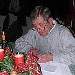 Hermann bei der weihnachtlichen Geschichte