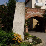 Gedenkstein an die Donauschwaben
