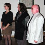 Drei neue Gildemitglieder (v. l. n. r. Daniela Prexl, Evelyn und Bruno Trular)